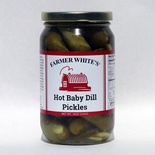 Hot Baby Dill Pickles